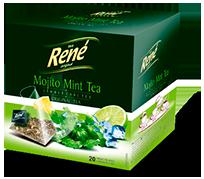 Pyramid Teas Mojito Mint Tea - Rene Cafe