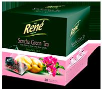 Pyramid Teas Sencha Green Tea - Rene Cafe