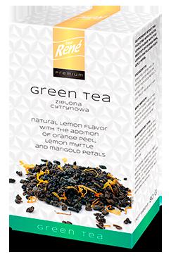 Leaf Tea Lemon - Rene Cafe