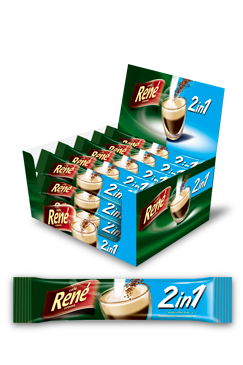 Instant Coffee 2 in 1 - Rene Cafe