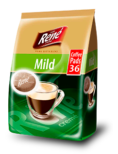 Coffee Pads Mild 36 - Rene Cafe