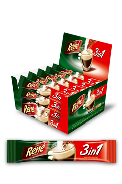 Instant Coffee 3 in 1 - Rene Cafe