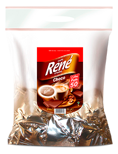 Coffee Pads Choco 100 - Rene Cafe